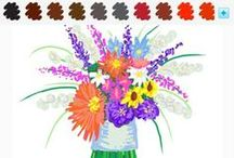 Draw Something - Flower Style