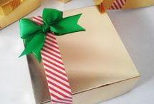 Cajitas Navideñas / Cajas para empacar dulces, galletas, chocolates y más en esta Navidad