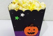 Halloween / Cajas para repostería y candy bar