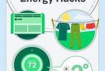 Ways to Save on Energy & Utilities / Pins from around the web with tips and ideas on how to save on energy to help with your utilities bill.