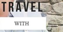 ➳ Travel With Style / Clothing, backpack, shoe, sunwear and outfit inspiration. Everything you need to be stylish & comfy while you travel the world.