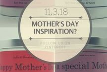 Mother's Day Gift Ideas / This is a board to showcase all sorts of items from creative makers and to inspire you and your little ones too.