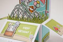 Lawn Fawn Scalopped Box card pop up