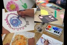 Creating Art With Kids / Promoting kids' creative expression, art education, and the encouragement and nurturing of authentic art-making in the elementary classroom.