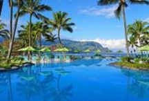 Stunning Pools / When the weather heats up, it's nice to know an enticing hotel pool awaits. Check out these stunners at hotels and resorts around the world and start planning your next refreshing getaway.