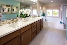 Bathrooms / Bathrooms in our beautiful model homes