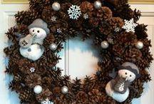 Advent ;) ... zimní tvoření