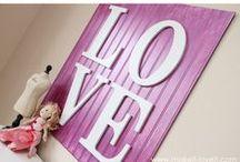 L.o.v.e and Wedding ideas...