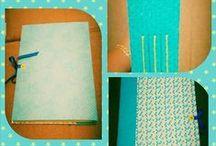 Bookbinding (Encadernação Manual) + scrapbook por Suzi Gonçalves / Meus trabalhos em encadernação manual e scrapbook.