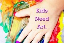Art is Elementary / ~ fundamentals of art education: why it's important, what it teaches, how it helps children grow, and more ~