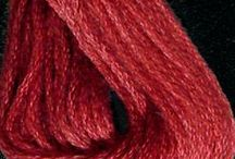 Threads, fabrics