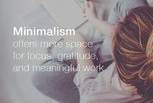 Organisation & Minimalismus