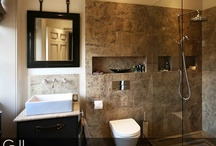 Bathrooms-modern twist