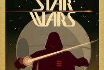 Ilustrações de heróis e personagens / by Samya Marques