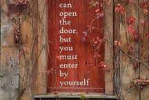 Doors That Inspire / When you open a door - you create a new experience!