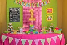 Emilia's birthdays / Ideas para los cumpleaños de nuestra Emilia Paz  / by Cami Gayoso Torres