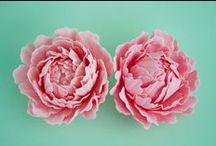 Tårtor - fondant blommor