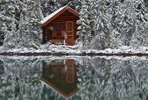 HOME DIFFERENTLY / Cabins, tiny houses, trailers, and some randomly cool stuff...