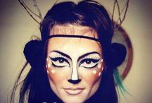 Maskerad - ansiktsmålning