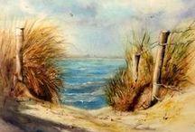 Art et Paysages / Les plus beaux paysages à l'aquarelle sur Pinterest.