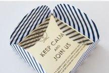 Folded Wedding Invites