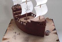 Tårtor - barn - pirat