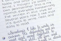 Text/Handwritting
