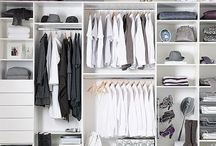 Walk-in closet / A small walk-in gets a makeover