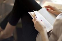 """A place to read / """"She's never where she is. She's only inside her head.""""  ~Janet Fitch"""