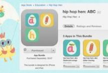 hip hop hen: ABC app bundle / 3 apps for the price of 2!