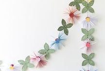 Paper Flowers / The most delicate blooms: Origami, paper craft, and creativity.
