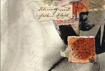 Collage and Mixed Media Works / All art requires courage. ~Anne Tucker / by Nancy Crawford - Artist & Teacher