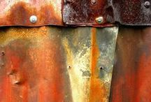 "RUST / ""...the anchor weeps its red rust downward..."" - Louise Bogan"