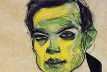 Egon Schiele: Or Inspired By...Artist