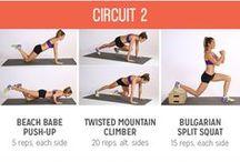 Love Fitness / Pictures that explains how to do Fitness very well! Foto di qualsiasi tipo di esercizi da fare!
