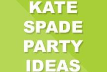 Kate Spade Party Ideas