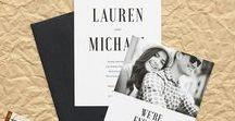 Photographic Design Inspiration / Wedding & event design inspiration -  Photo wedding invitations, photography wedding invitations and other photography-based wedding invitation design