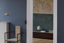 rum: blå-grå-vit