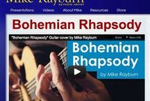 Mike's Videos / Mike's latest CD - parodies of Taylor Swift, Bruno Mars, Julie Andrews, Kansas, The Clash, Justin Bieber, Taio Cruz... Bonus track: Mike's solo guitar version of Bohemian Rhapsody; guest appearances by John Oates (Hall and Oates), Phil Keaggy, Buzz Sutherland