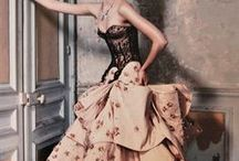 """Fashion-""""Dressed"""" Up! / Beautiful dresses of which I'll NEVER get to wear."""