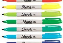 DIY-WithSharpies / Art made with Sharpies.  Sharpies are wonderful!