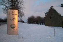 Hall Farm in the Snow