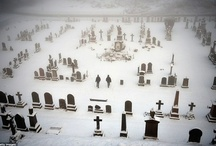 Cemeteries and Graveyards / The beauty of gravestones and cemetery sculpture is stunning.