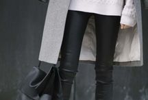 Fashion-Fall/Winter / Sweaters, coats, and all cold weather cozies!