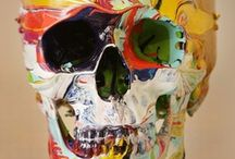 Art-Damien Hirst / Edgy, and sometimes controversial, art from Damien Hirst. / by Roxanne Buchanan
