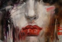 Art-Portraiture &People / Paintings/Drawings featuring people as the subjects. / by Roxanne Buchanan