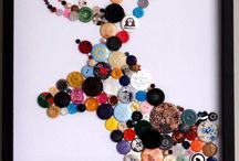DIY-Buttons&Beads / Stuff made with buttons and beads. / by Roxanne Buchanan
