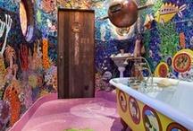 Interiors-Bathroom / Bathrooms I think are cool.