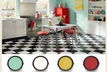 Interiors-Colors Schemes / Color palettes and schemes. / by Roxanne Buchanan