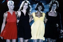 80's/90's-Supermodels&Haute Couture / 80's and 90's era catwalk couture, and models of the moment.